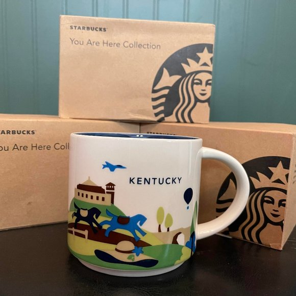 """Starbucks """"You are here collection"""" KENTUCKY"""